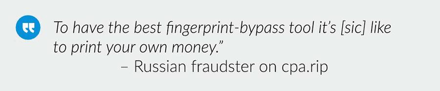 Russian Fraudster Antidetect Broswer
